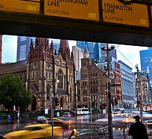 Meet me under the Clocks            Melbourne by James  Key