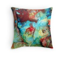 Worldly Dimensions.... Throw Pillow