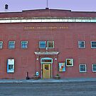 Golden Valley County (Montana) Court House by Bryan D. Spellman