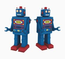 Toy Robot 3D by Adam Angold
