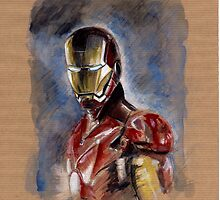 Iron Man by Anton Van Dort