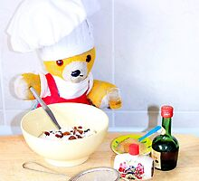 Fred makes his Christmas cake by missmoneypenny