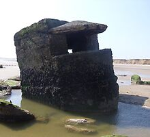 Pillbox in the Sand - Friasthorpe by rthorpe1985