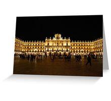 Plaza Major, Salamanca Greeting Card