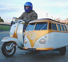 Kombi Sidecar by Gary Kelly