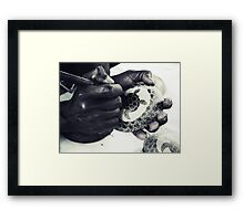 Gifted Hands Framed Print