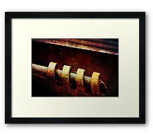 Hot, Handle With Care Framed Print