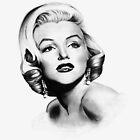 Marilyn Monroe Portrait by Jimmy Bell