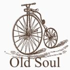 Old Soul Vintage Bicycle T-Shirt by margosnyderart