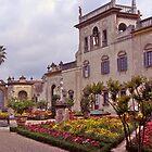 Medieval garden, medici villa, florence,italy by johnrf