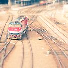 a toy choo-choo by pdra