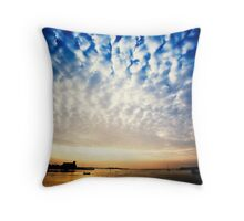 Sungarvan Over The Harbour Throw Pillow