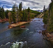 Wenatchee River by Kathy Weaver