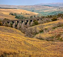 Dent Head Viaduct by Trevor Kersley