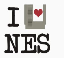 I Heart NES by Baardei
