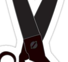 Hoodscissors Sticker