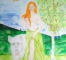 Cerridwen - Goddess of Fertility by TriciaDanby