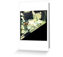 Who drank my coffee? Greeting Card