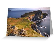 Neist Point (2) Greeting Card