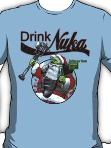 Fallout 3 Spoof Drink Cold and Refreshing Nuka T-Shirt