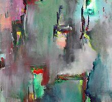 """Fading Memories"" Original acrylic painting by Tree3332art"