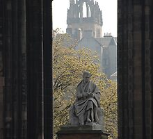 Scott Monument and St Giles by briandhay
