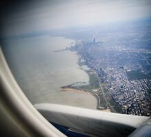 Chicago From The Sky by MatMartin