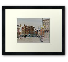 Carson Street & S.12th Street, South Side, Pittsburgh Framed Print
