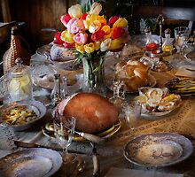 Chef - Easter Dinner by Mike  Savad