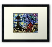Van Gogh- The Black Hole  Framed Print