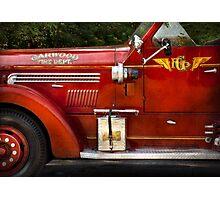 Fireman - Garwood Fire Dept Photographic Print
