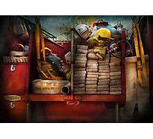 Fireman - Fire equipment  Photographic Print