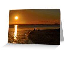 Bribie Island & The Glasshouse Mountains. Queensland, Australia. Greeting Card
