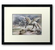 I am Pegasus Framed Print