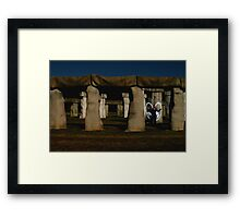 Angels Of Ancient Times Framed Print