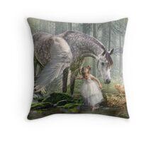 Special Friends Throw Pillow