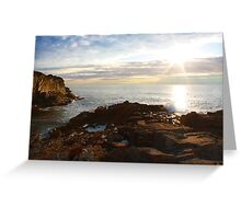 Cliff House, Ogunquit, ME. Greeting Card