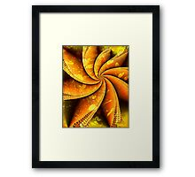 Decorating With Leaves Framed Print
