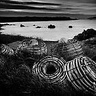 Cray pots Currie Harbour by Karen Scrimes
