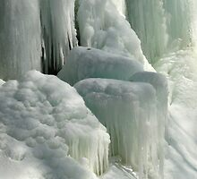 Frozen falls by Amy Herrfurth