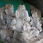Lord Ganesh by upadhyay
