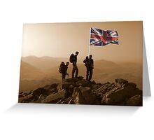 First Ascent Greeting Card
