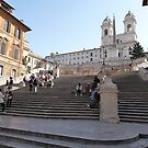Spanish steps by Braedene