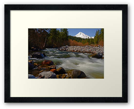 Hood River Landscape by Nick Boren