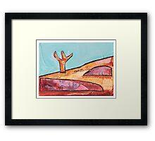 crown land Framed Print