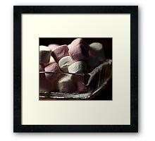 Marshmallow Sweet Framed Print