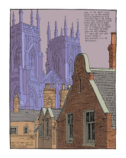 yorkminster dusk by David  Kennett