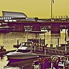 Yellow scenery &amp; speed boats...:On Featured work by Kornrawiee