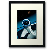 Go Main Throttle Framed Print