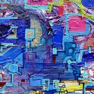 Excerpt  2 from Rube Goldberg Abstract by Regina Valluzzi